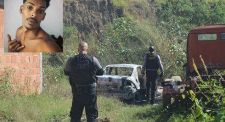 Homem é encontrado carbonizado dentro de carro em Nova Iguaçu