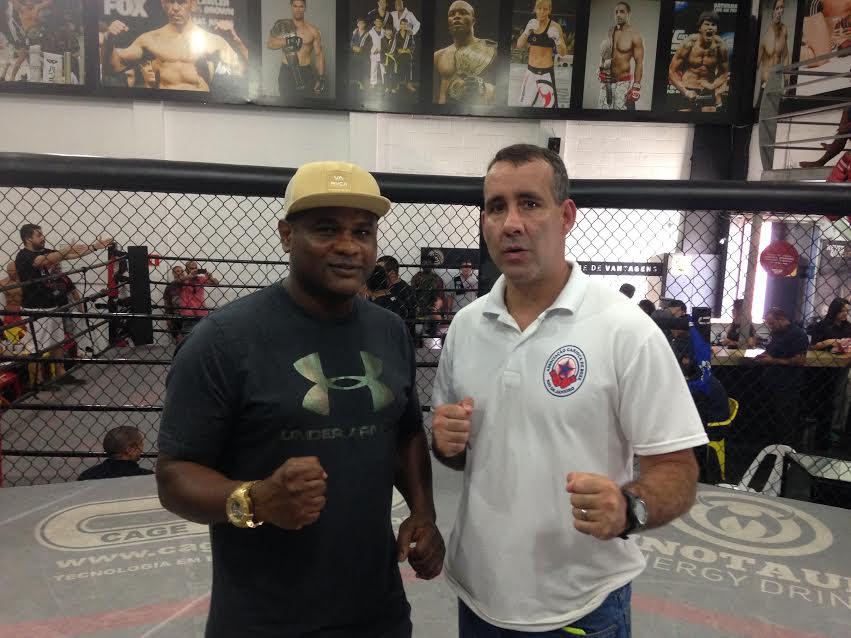 Minotauro e Minotouro homenageados no Rio pela contribuição ao boxe