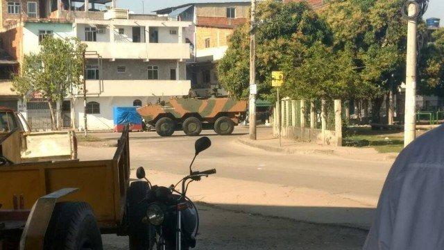 Cinco homens morrem durante operação da Polícia e do Exército no Complexo da Maré