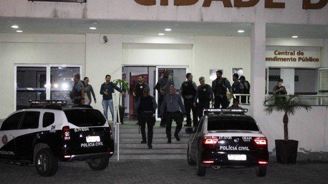 Polícia Civil e Ministério Público realizam operação contra o crime organizado no estado do Rio