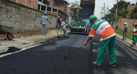 Queimados conclui obras de pavimentação em várias ruas