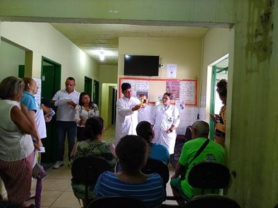 Saúde de Mesquita informa sobre  sintomas e prevenção de câncer