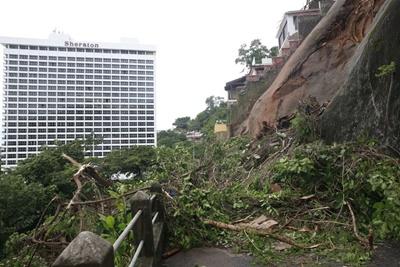 Defensoria do Rio pede obras de  contenção de encostas na Rocinha