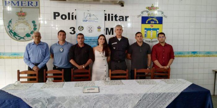 nova diretoria do Conselho Comunitário de Segurança pública e apresentada na sede do 39 Batalhão