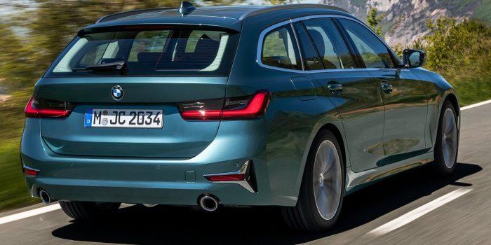 BMW revela nova geração da Série 3 Touring