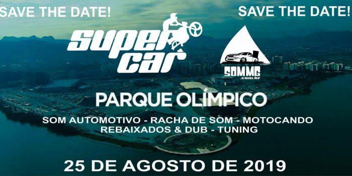 Super Car Rio e Motos acontece em agosto no Parque Olímpico da Barra