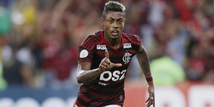 Com lesão no tornozelo, Bruno Henrique fica fora de jogo entre Flamengo e Athletico