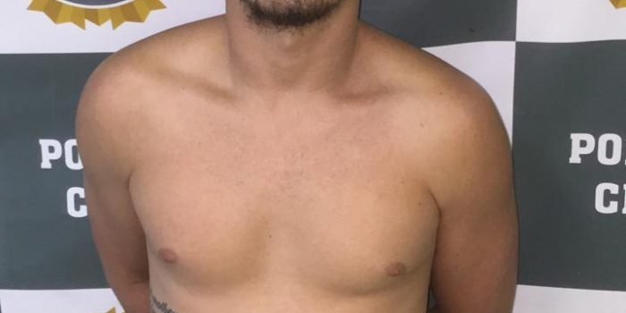 Polícia prende homem acusado de receptação
