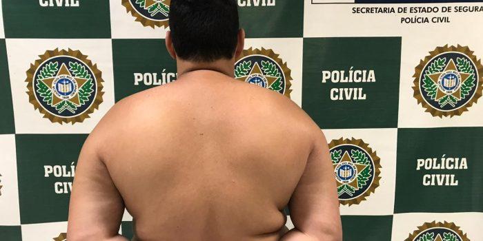 Preso por agredir mulher em Nova Iguaçu