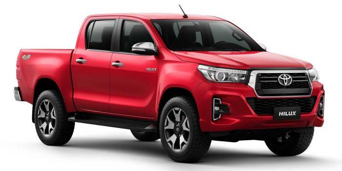 Toyota Hilux e SW4 2020 chegam com muitas novidades