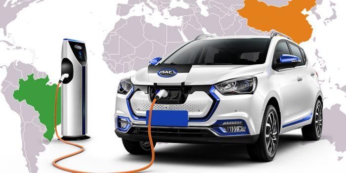 JAC Motors revela sua linha de modelos elétricos com preço inicial de R$ 119.990