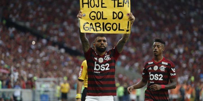 Gabigol é absolvido no STJD por comemoração de gol do Flamengo contra o Vasco