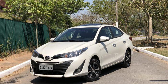 Avaliação do Toyota Yaris Sedã XLS CTV 2019