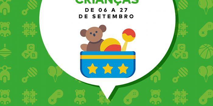 Shopping Grande Rio promove campanha de doação de brinquedos com apoio do Instituto da Criança