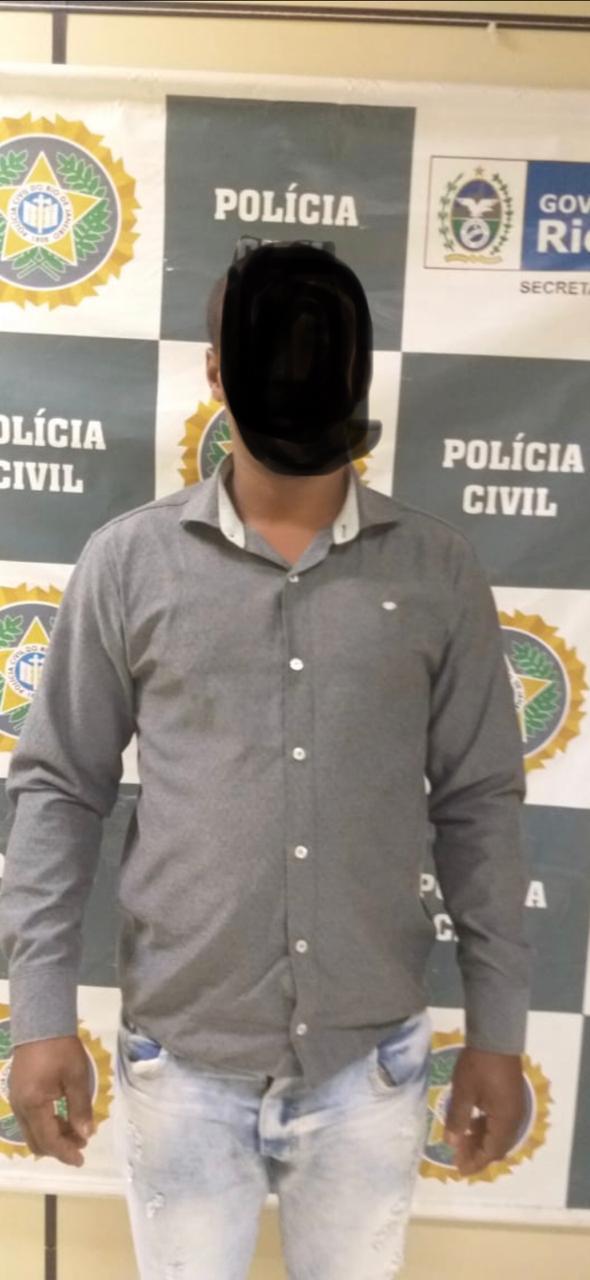 policia civil prende foragido da justiça acusado de roubo e estupro
