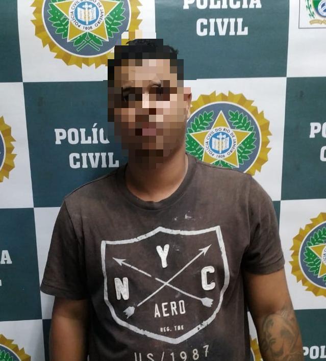 Policia civil prende Homem  foragido da justiça em Nova Iguaçu