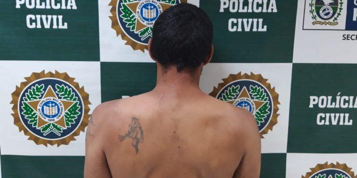 Policia prende Homem acusado de agredir  Companheira em Nova Iguaçu