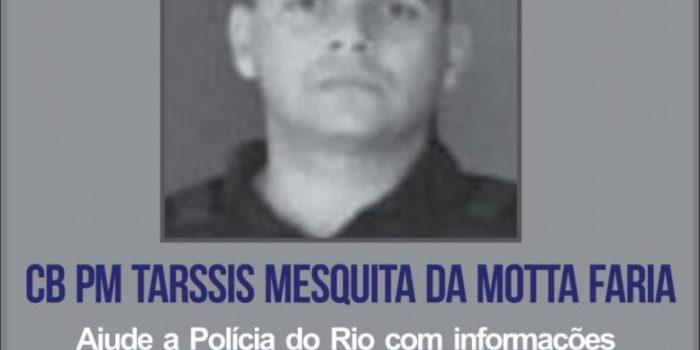 Disque Denúncia divulga cartaz pedindo informações sobre morte de policial na Zona Norte
