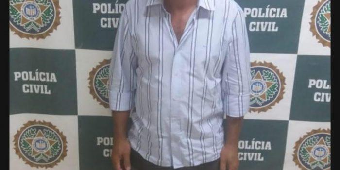 Policiais de Seropédica prendem  Padrasto acusado de molestar enteada