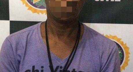 Policiais de Nilópolis Prendem Homem acusado de vários crimes e usando uma tornozeleira eletronica
