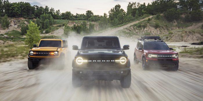 Ford lança a nova família Bronco nos EUA