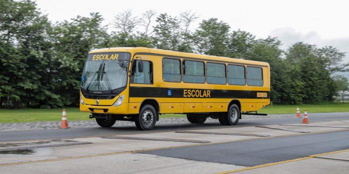 VW entrega 146 novos ônibus ao programa Caminho da Escola em Rondônia, no Norte do país