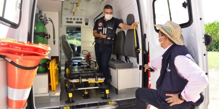Guapimirim Recebe Ambulâncias Samu  do Ministério da Saúde