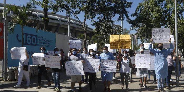 Governo anuncia pagamento de salários atrasados de funcionários dos hospitais de campanha