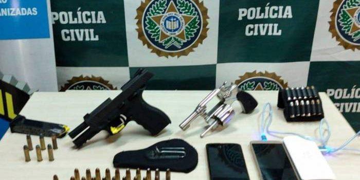 Polícia prende homem que assumiria gerência de milícia e ex-policial envolvido com quadrilha