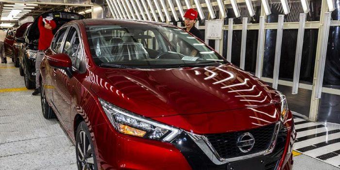 Nissan inicia produção do Novo Versa para o Brasil
