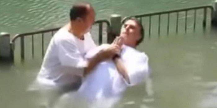 Preso por corrupção, Pastor Everaldo já batizou Bolsonaro em Israel;  relembre