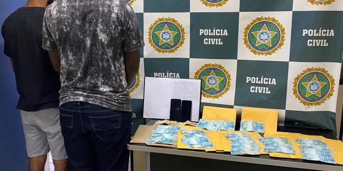 Policiais Civis da 58ª DP Posse prendem dupla de estelionatários em Nova Iguaçu