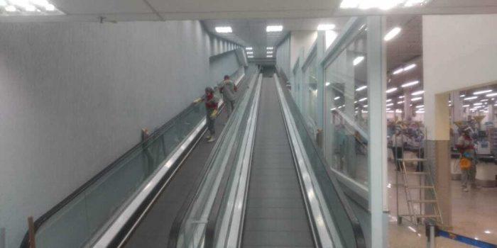 Guanabara de Bangu ganha esteiras rolantes, corredores amplos e nova fachada