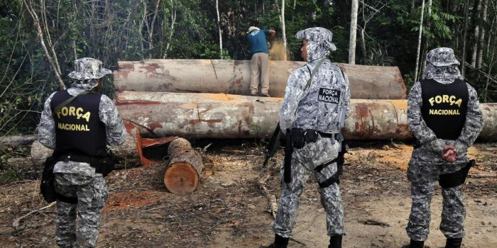 Governo prorroga uso da Força Nacional na Amazônia