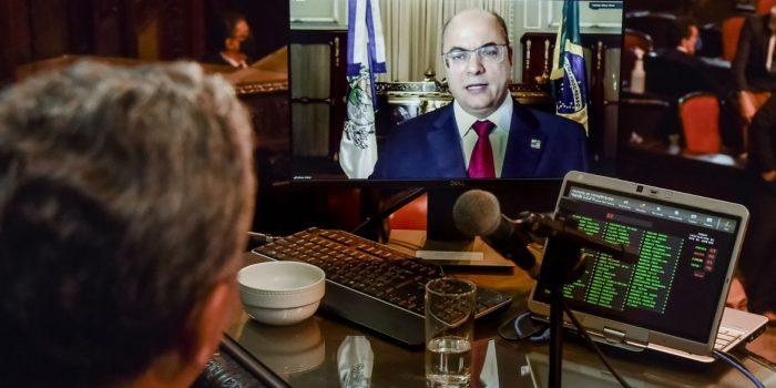 Relatório do processo de impeachment de Witzel será entregue amanhã