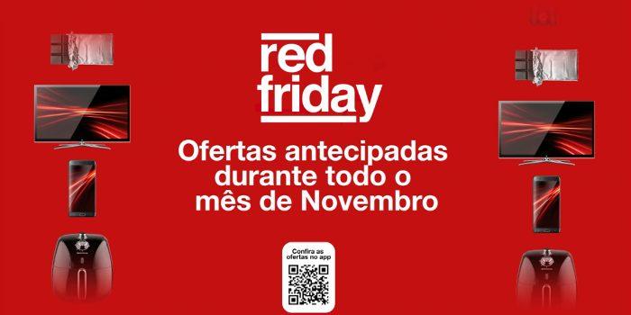 Confira as ofertas antecipadas da Red Friday da Americanas