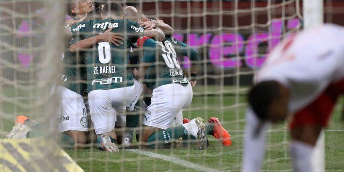 Palmeiras vence de novo o Bragantino e avança na Copa do Brasil
