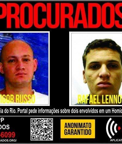 Disque Denúncia pede informações sobre suspeitos de executar dois jovens em Nova Iguaçu