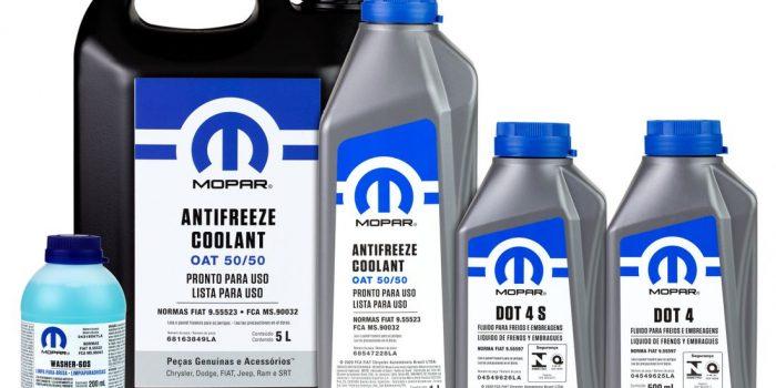 Mopar apresenta novos lubrificantes e fluidos