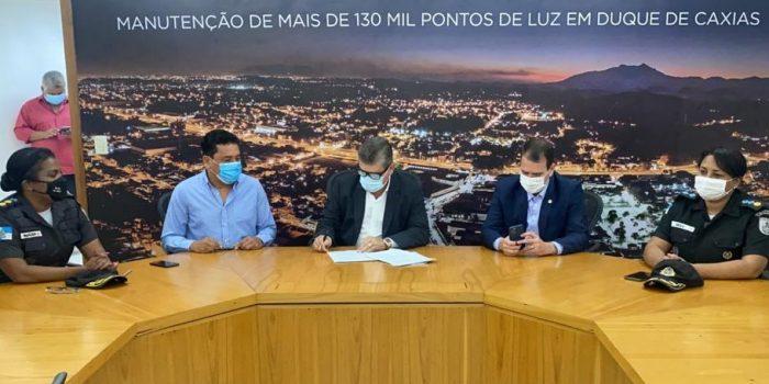 Prefeitura de Duque de Caxias renova convênio com Colégio da Polícia Militar