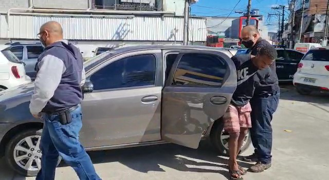 Polícia Civil prende autor de diversos roubos no Município de Magé