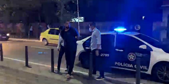 Agentes da 58ª DP (Posse) prendem Homem acusado de esfaquear a ex namorada em mercado