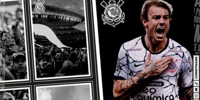 Depois de longa espera, Corinthians anuncia a contratação de Roger Guedes