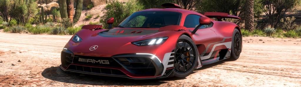 Mercedes-AMG Project One é a estrela em novo jogo hiper-realista Forza Horizon 5