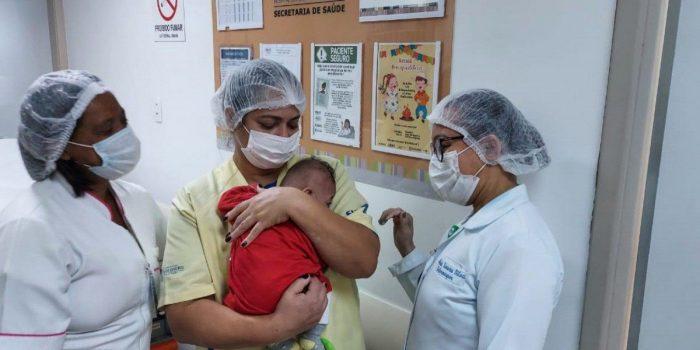 Funcionários do Hospital Estadual Alberto Torres pedem doações para bebê