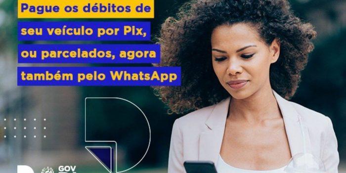 Detran-RJ disponibiliza pagamentos de débitos e taxas pelo WhatsApp