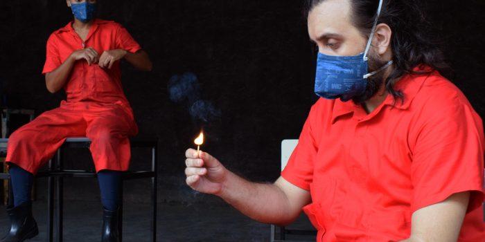 Grupo Código, de Japeri, faz minitemporada do espetáculo Muros no Teatro Armando Gonzaga