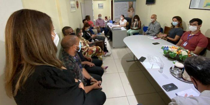 Representantes da Águas do Rio se reúnemcom secretários de Nova Iguaçu