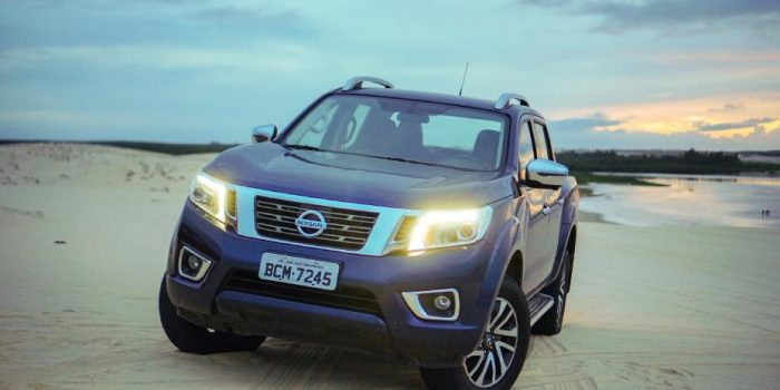 Nissan Frontier bate recorde de vendas no Brasil