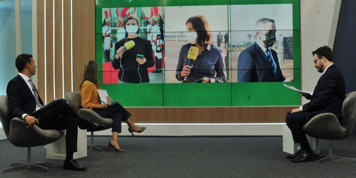 Transmissão do 7 de setembro leva TV Brasil ao 4º lugar na audiência